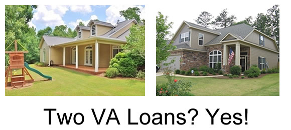 two VA loan