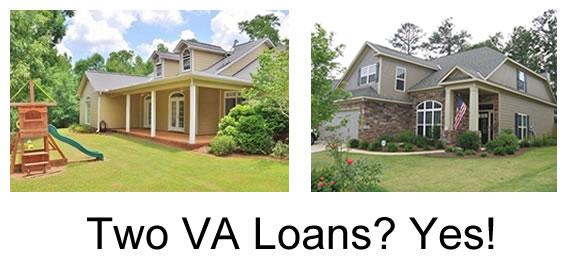two VA loan
